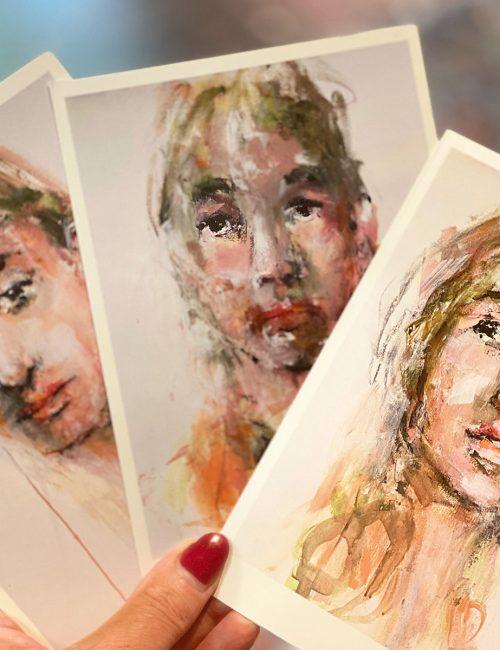art cards buy a set of three